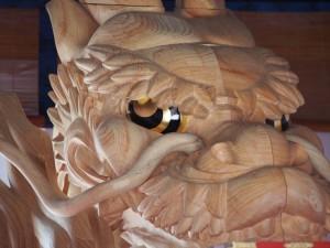 大船鉾の龍頭