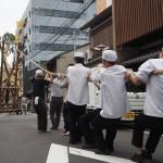祇園祭 前祭・山建て 7月