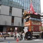 祇園祭 函谷鉾 曳き初め 7月