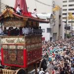 祇園祭 鶏鉾の曳き初め 7月
