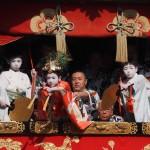 祇園祭 長刀鉾の曳き初め 7月