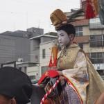 長刀鉾稚児社参 2014年