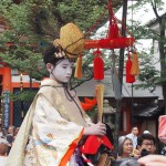 祇園祭 長刀鉾稚児社参 7月