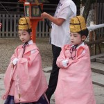 祇園祭 久世駒形稚児社参 7月