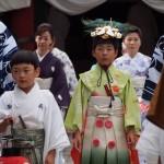祇園祭 稚児 7月