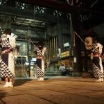 祇園祭 日和神楽の奉納 7月