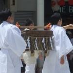祇園祭 大船鉾の唐櫃巡行 7月