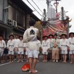 祇園祭 太子山の出発 7月