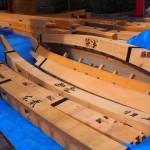 大船鉾の部材