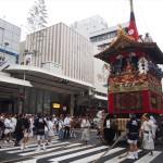 祇園祭 山鉾巡行 しめ縄切り