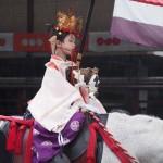 祇園祭 神幸祭 久世駒形稚児