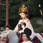 祇園祭 神幸祭 久世駒形稚児 7月