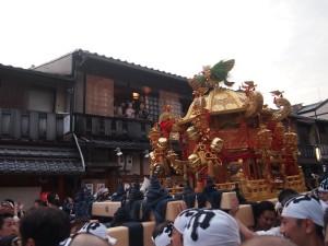 祇園祭 神幸祭 祇園にて