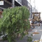 祇園祭 後祭・山建て 7月