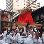 祇園祭 大船鉾の龍頭新調 7月