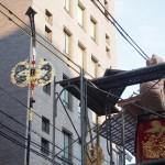 大船鉾と剣鉾