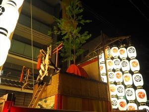 後祭 八幡山