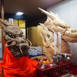 祇園祭 大船鉾の龍頭 7月