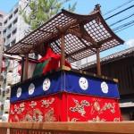祇園祭 役行者山 宵掛け修復 7月