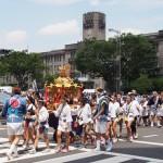 花傘巡行 子供神輿