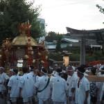 祇園祭 還幸祭 神泉苑にて