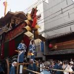 祇園祭 大船鉾の出発 7月