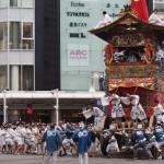 祇園祭 後祭の山鉾巡行 7月
