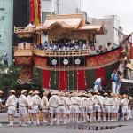 祇園祭 後祭の山鉾巡行 大船鉾 7月