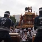 丹波八坂太鼓と中御座神輿