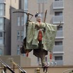 祇園祭 後祭の山鉾巡行 橋弁慶山
