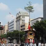 祇園祭 後祭の山鉾巡行