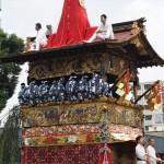 祇園祭 後祭の山鉾巡行 北観音山