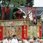 祇園祭 後祭の山鉾巡行 鯉山