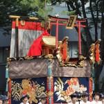 祇園祭 後祭の山鉾巡行 八幡山