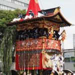 祇園祭 後祭の山鉾巡行 南観音山