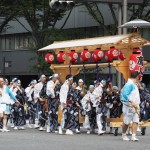 祇園祭 鷹山の行列復帰 7月