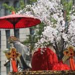 祇園祭 後祭の山鉾巡行 黒主山