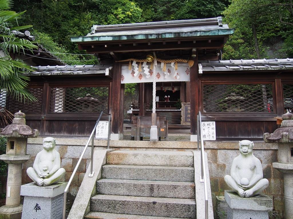 真如堂の鎮守、日吉神社の猿 | ...
