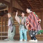 祇園祭 狂言奉納 7月