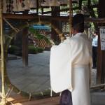 御香宮神社 茅の輪神事 7月