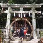 祇園祭 八坂神社 疫神社夏越祭 7月