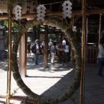 御香宮神社 茅の輪くぐり