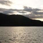 広沢池の夜明け