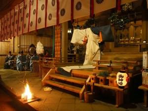 千日詣り 朝御饌祭