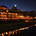 夏の夜の鴨川