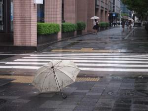 台風の接近に注意を