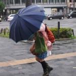 台風の時は不要な外出は避ける