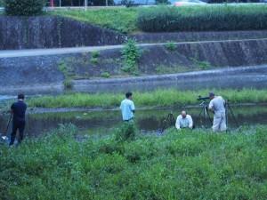 中州にいたカメラマン