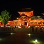 石清水八幡宮 ライトアップ 8月