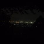 男山からの夜景